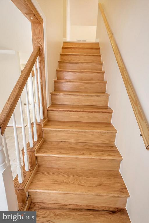 Staircase to Upstairs Bedrooms - 10108 S. FULTON DR, FREDERICKSBURG
