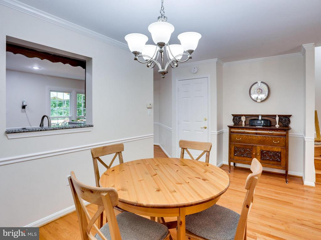 Dining Room - 12336 MANCHESTER WAY, WOODBRIDGE