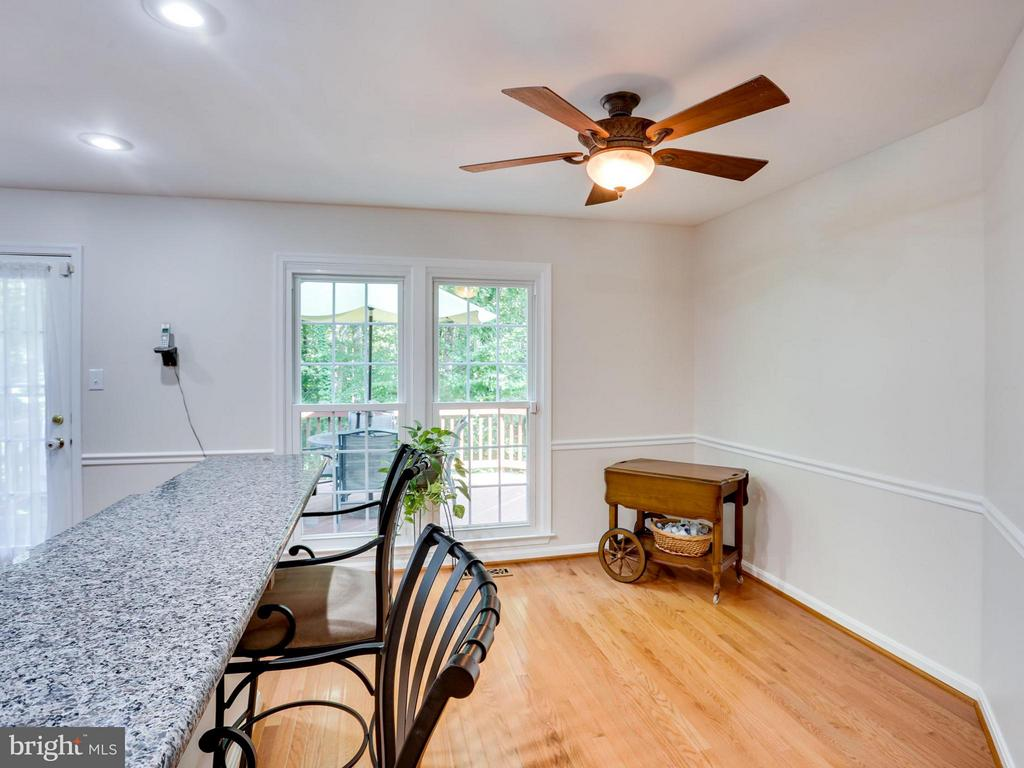 Eat-in space with large windows - 12336 MANCHESTER WAY, WOODBRIDGE
