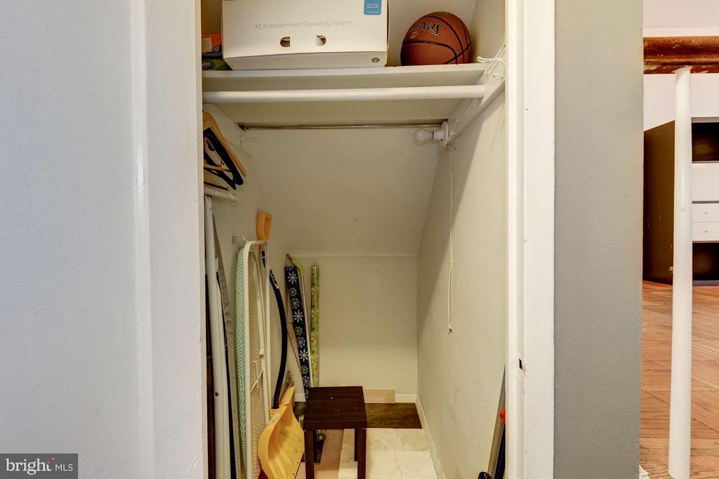 Walk-in closet. Lots of closet space. - 3340 MARTHA CUSTIS DR #215, ALEXANDRIA