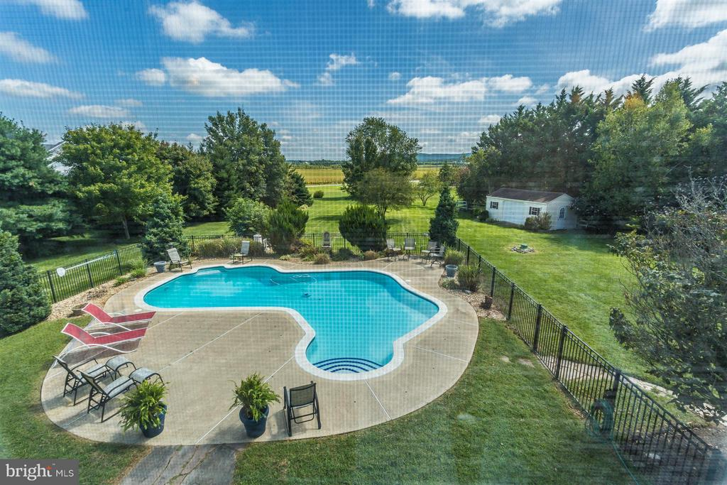 Views of the Sugarloaf Mountains. - 2301 FARMERS CT, ADAMSTOWN