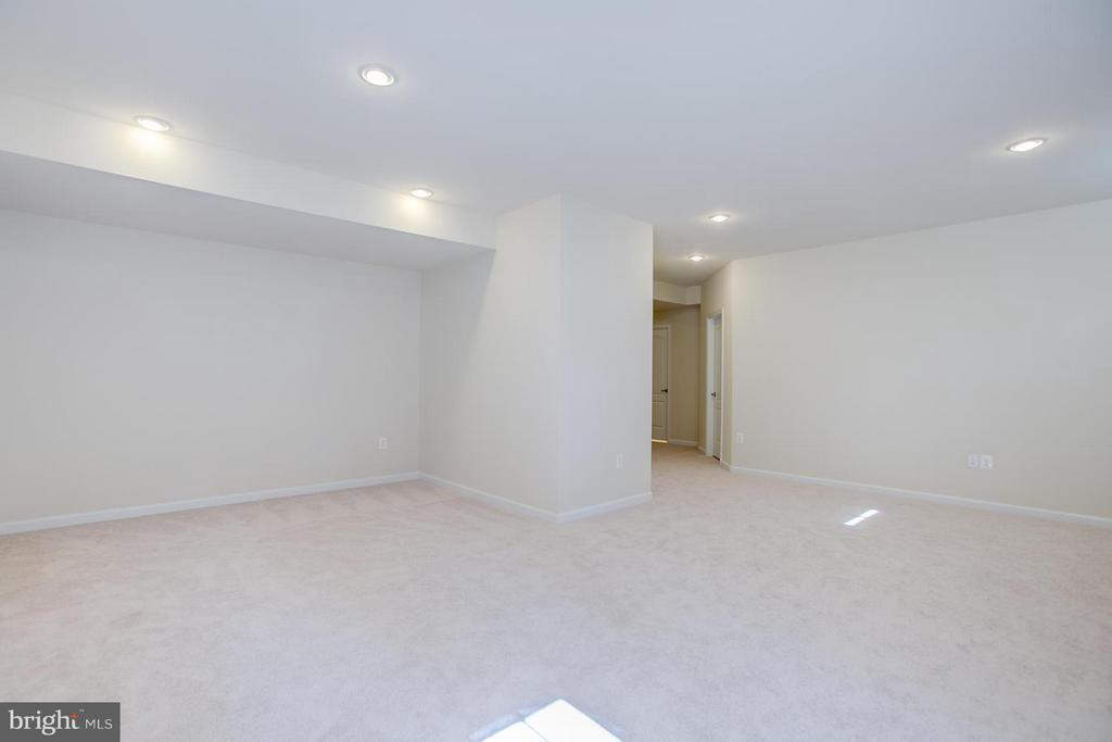 Spacious Rec Room With Tons of Storage! - 336 PEAR BLOSSOM RD, STAFFORD