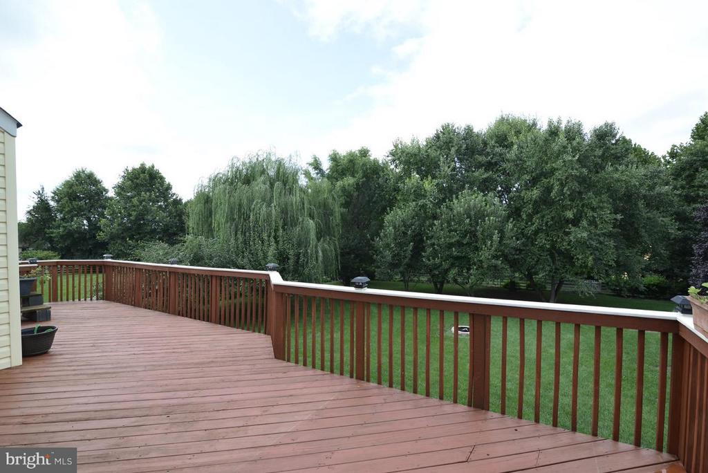 Newly reinforced deck and new rails - 17233 MAGIC MOUNTAIN DR, ROUND HILL