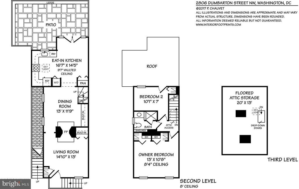 2806 Dumbarton - Floor Plan - 2806 DUMBARTON ST NW, WASHINGTON
