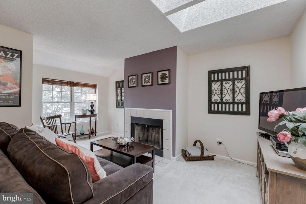 FAMILY ROOM - BONUS ROOM - HOME OFFICE - REC ROOM - 12105 GREEN LEDGE CT #302, FAIRFAX