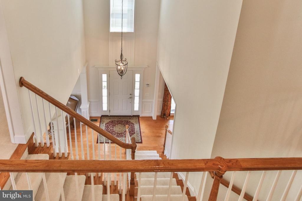 Overlook from 2nd level - 9406 OLD SETTLE CT, MANASSAS