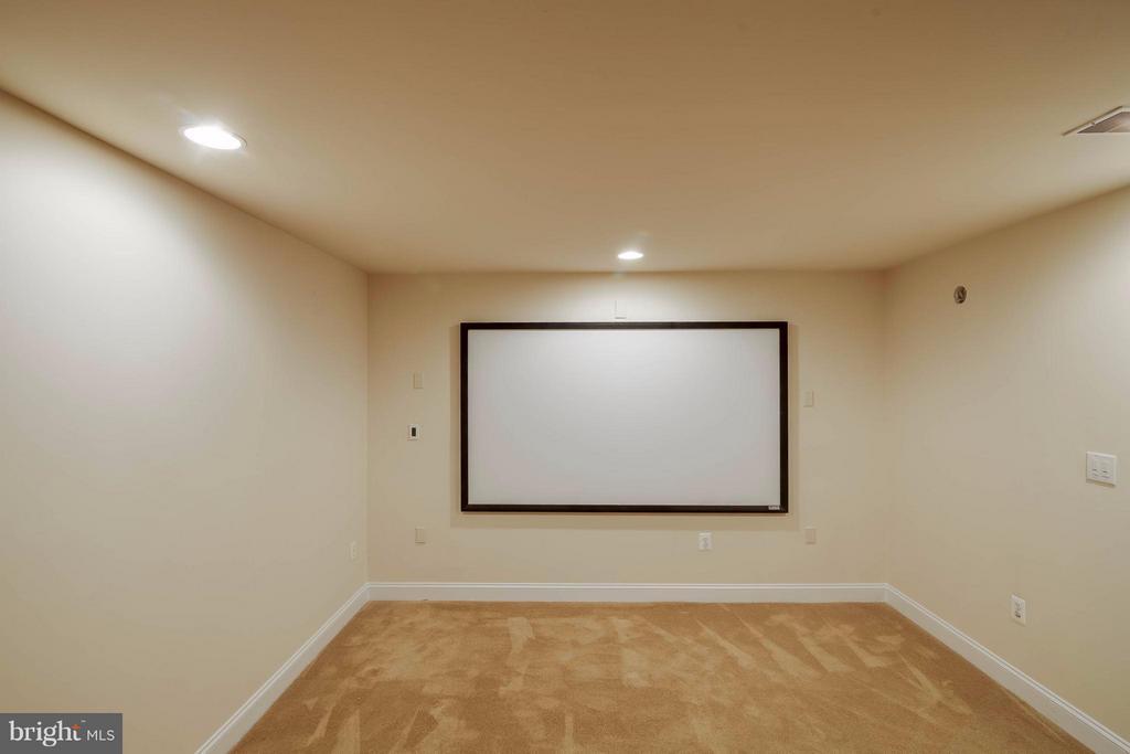 Theatre room conveys! - 5658 TOWER HILL CIR, ALEXANDRIA