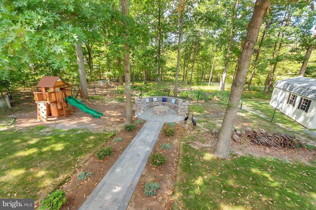 View of Backyard - 11906 HUNTING RIDGE DR, FREDERICKSBURG