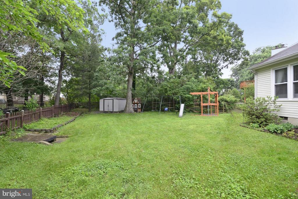 rear yard - 13412 POCONO CT, HERNDON