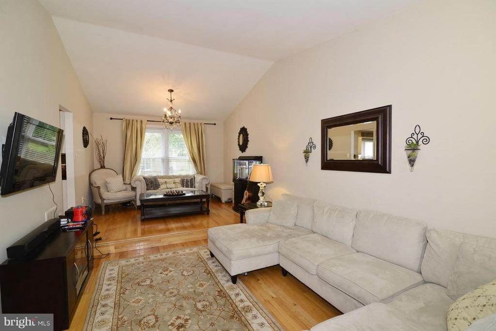 living room - 13412 POCONO CT, HERNDON