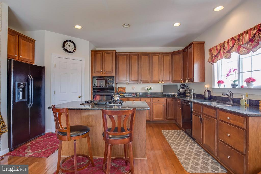 Kitchen Island & Granite! - 8199 MCCAULEY WAY, LORTON