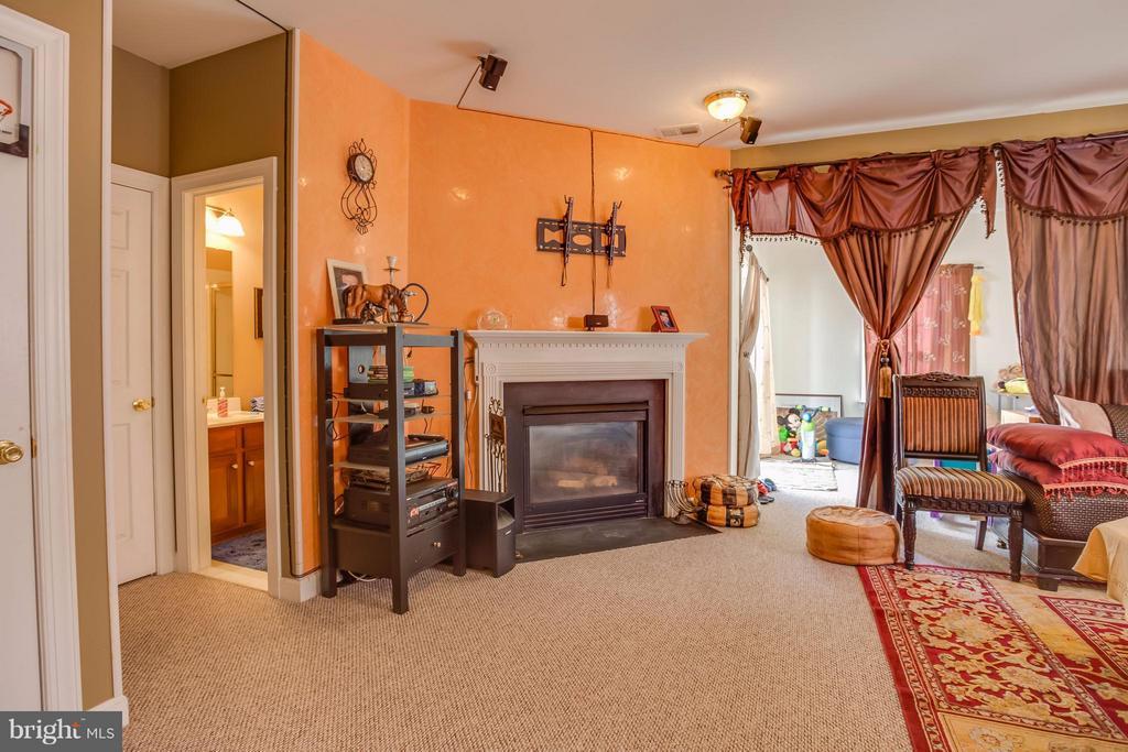 Gas Fireplace - 8199 MCCAULEY WAY, LORTON