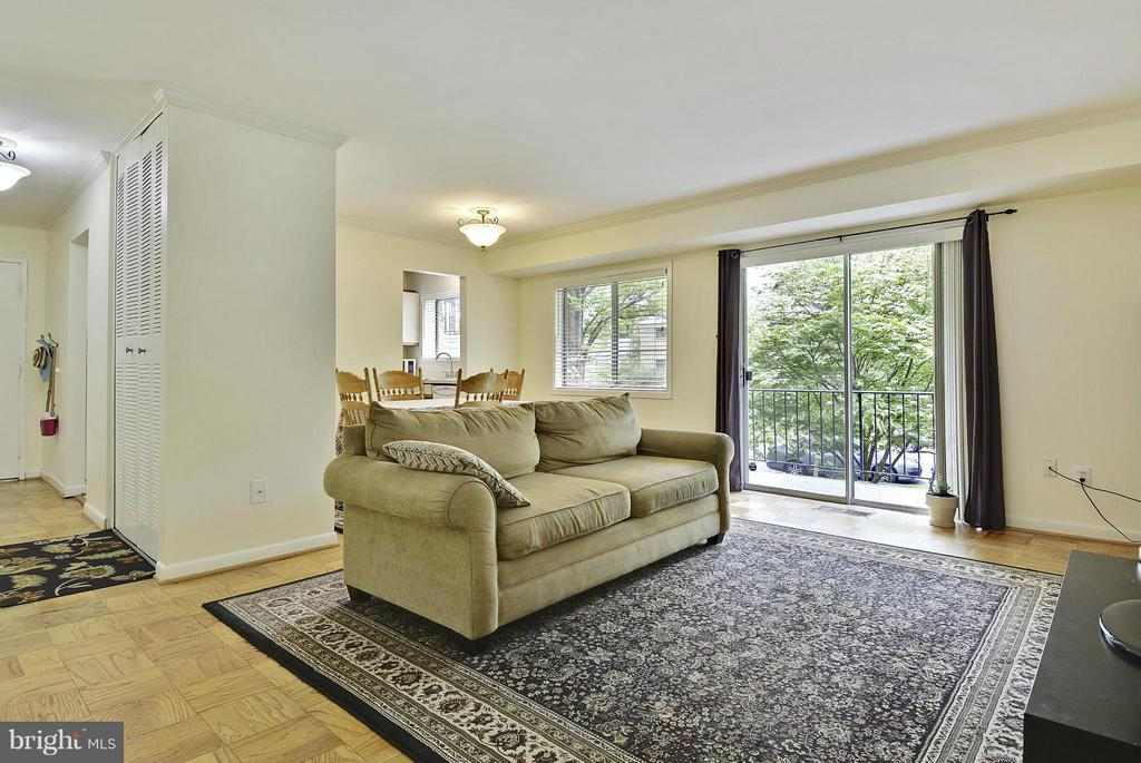 Living Room - 10661 MONTROSE AVE #M-101, BETHESDA
