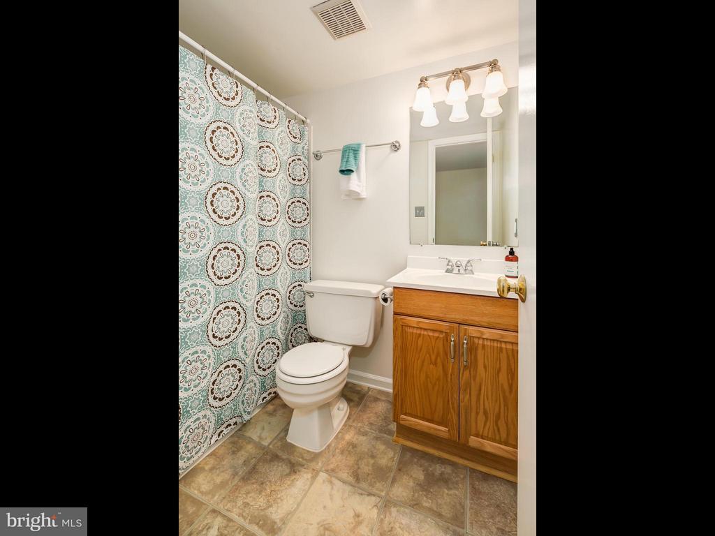 Full Bathroom on the Lower Level - 5929 WATERS EDGE LANDING LN, BURKE