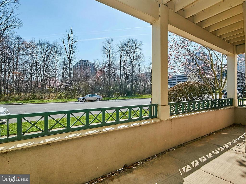 Unit's Covered Porch Area - 12024 TALIESIN PL #12, RESTON