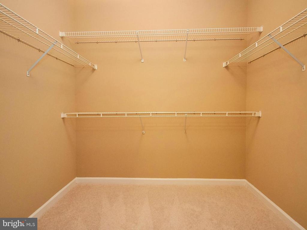 Huge Walk In Closet in Master Bedroom - 12024 TALIESIN PL #12, RESTON