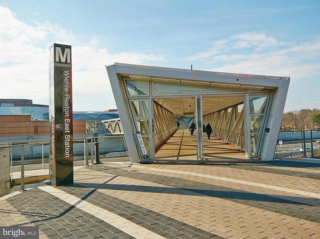 Metro Stop at Wiehle Avenue - 12024 TALIESIN PL #12, RESTON