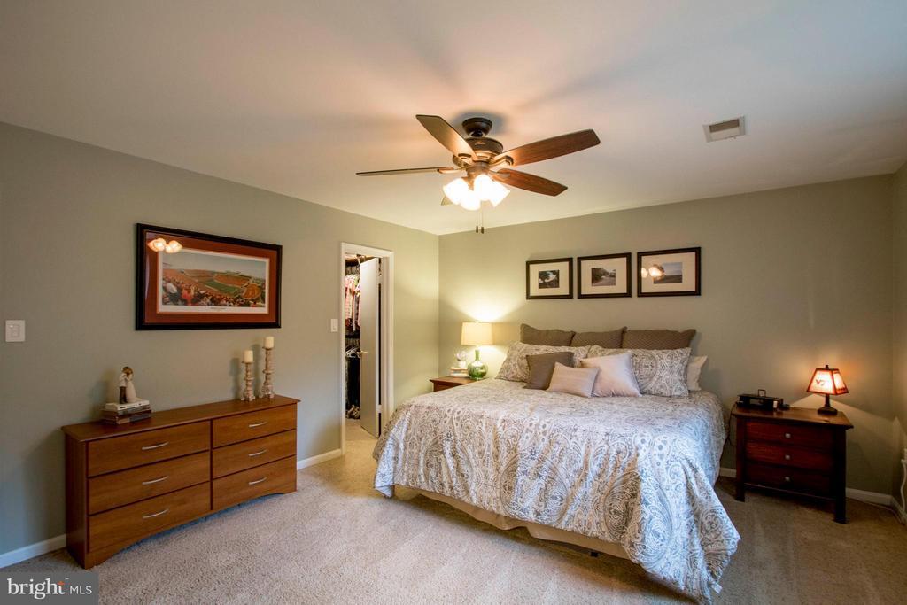 Bedroom (Master) - 7423 SHAMROCK CT, WARRENTON
