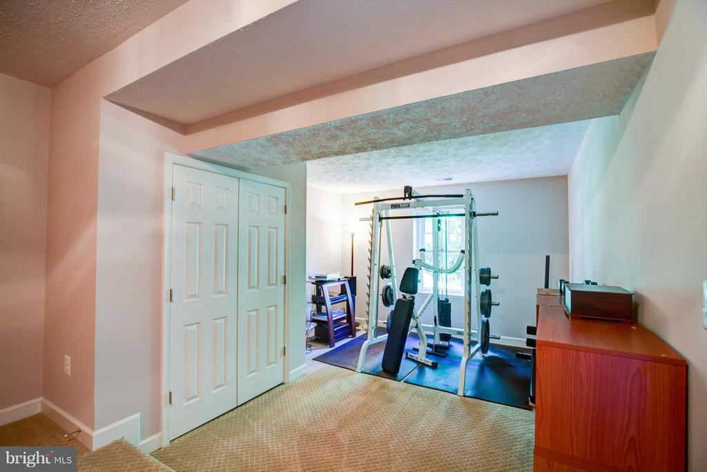Lower Level Gym - 609 BEAUREGARD DR SE, LEESBURG