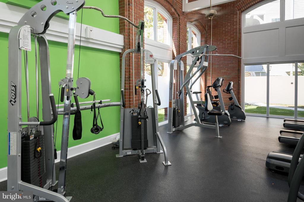 Community Gym very close by! - 10721 HAMPTON MILL TER #212, ROCKVILLE
