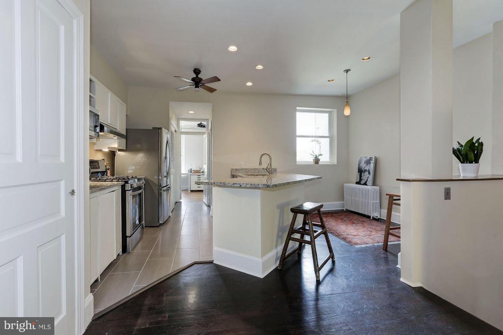 Owner's Unit Kitchen (1 of 3) - 1105 P ST NW, WASHINGTON