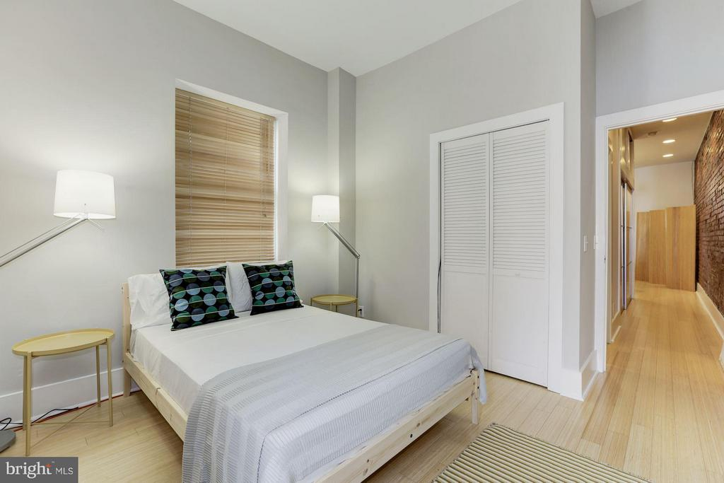 Unit #2 Bedroom (1 of 2) - 1105 P ST NW, WASHINGTON