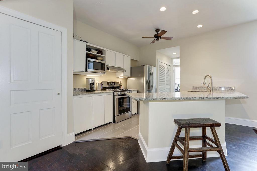 Owner's Unit Kitchen (3 of 3) - 1105 P ST NW, WASHINGTON