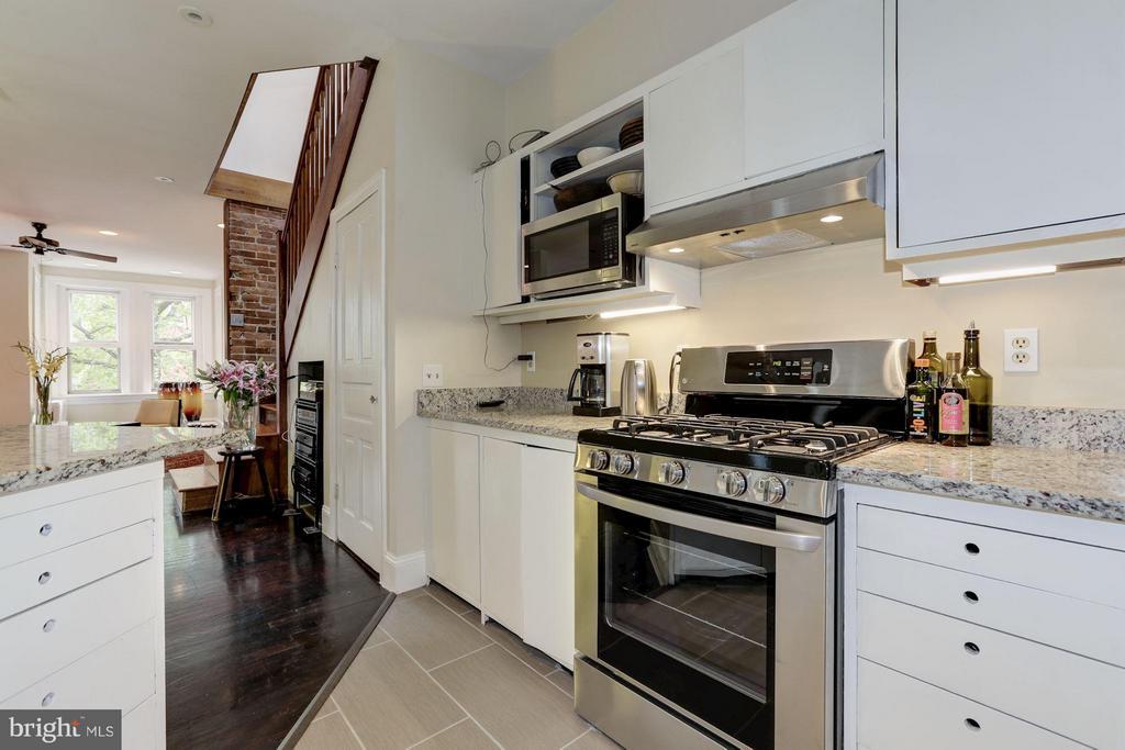 Owner's Unit Kitchen (2 of 3) - 1105 P ST NW, WASHINGTON