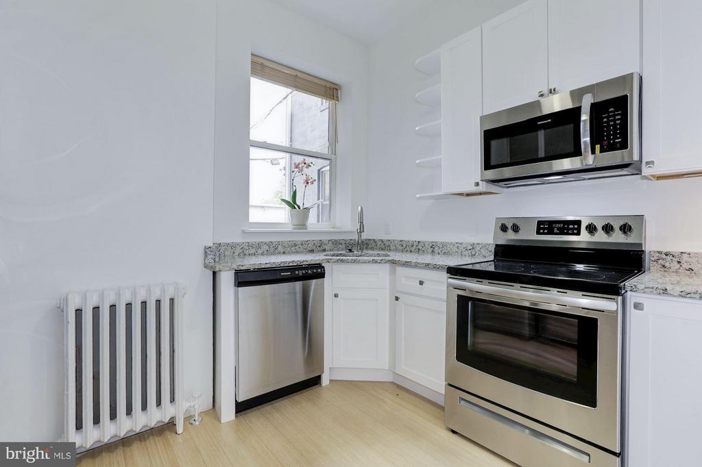 Unit #2 Kitchen (1 of 2) - 1105 P ST NW, WASHINGTON