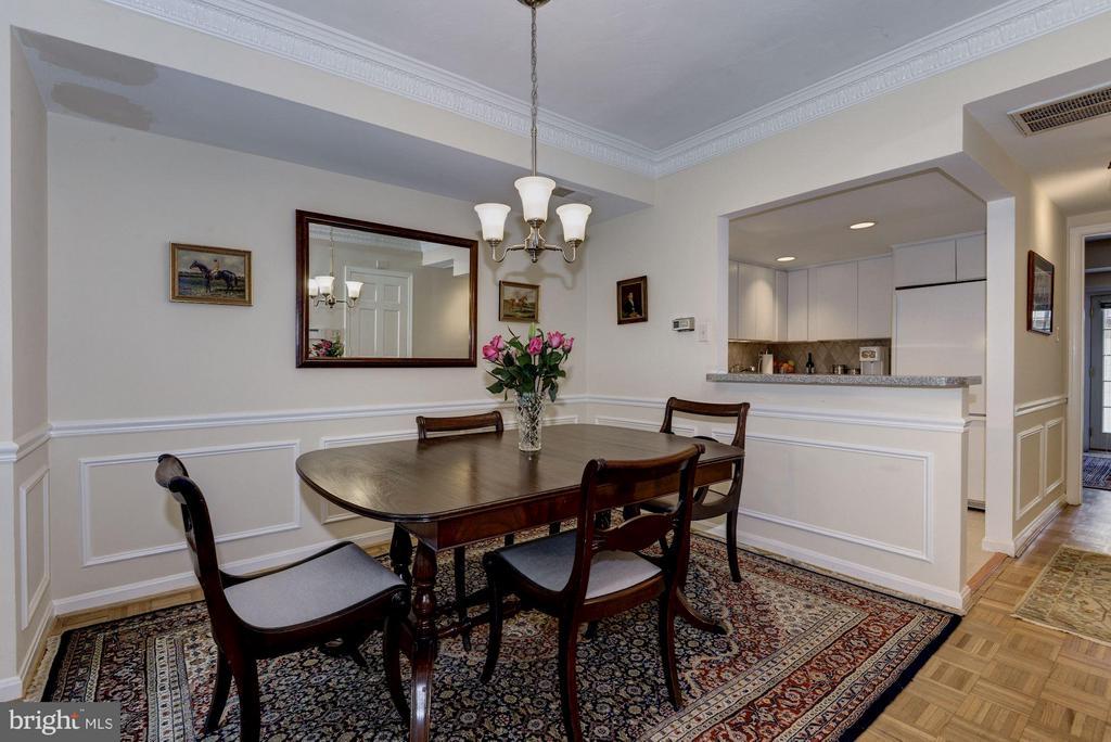 Dining Area (1 of 2) - 1749 Q ST NW #9, WASHINGTON