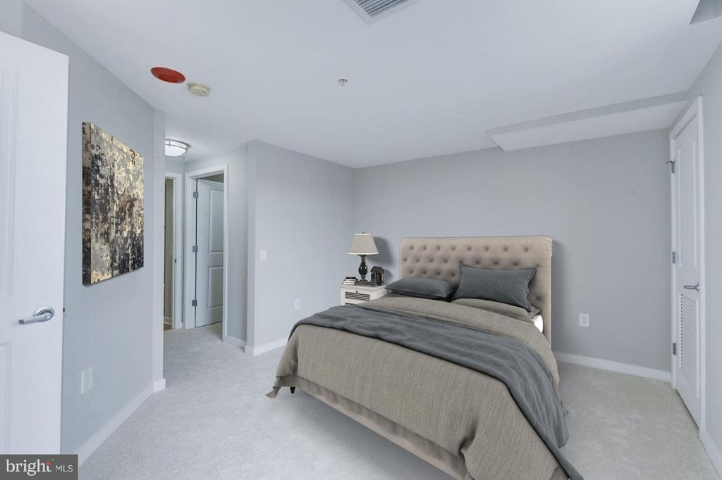 Bedroom (2 of 3) - 475 K ST NW #711, WASHINGTON