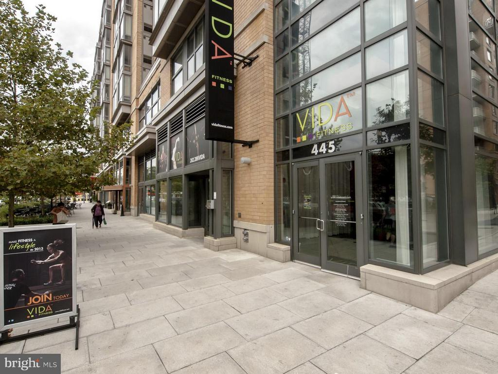 CityVista's Retail includes Vida Spa - 475 K ST NW #711, WASHINGTON