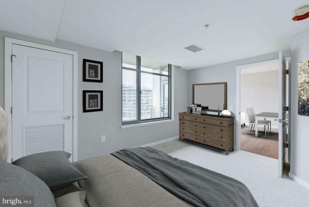 Bedroom (1 of 3) - 475 K ST NW #711, WASHINGTON