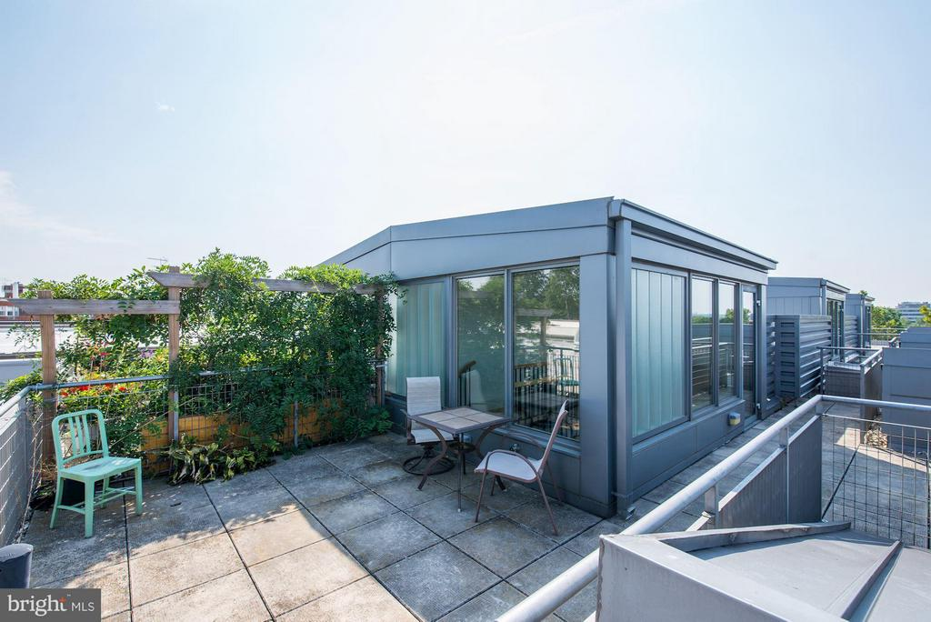 Private Roof Deck (2 of 2) - 2516 Q ST NW #Q301, WASHINGTON