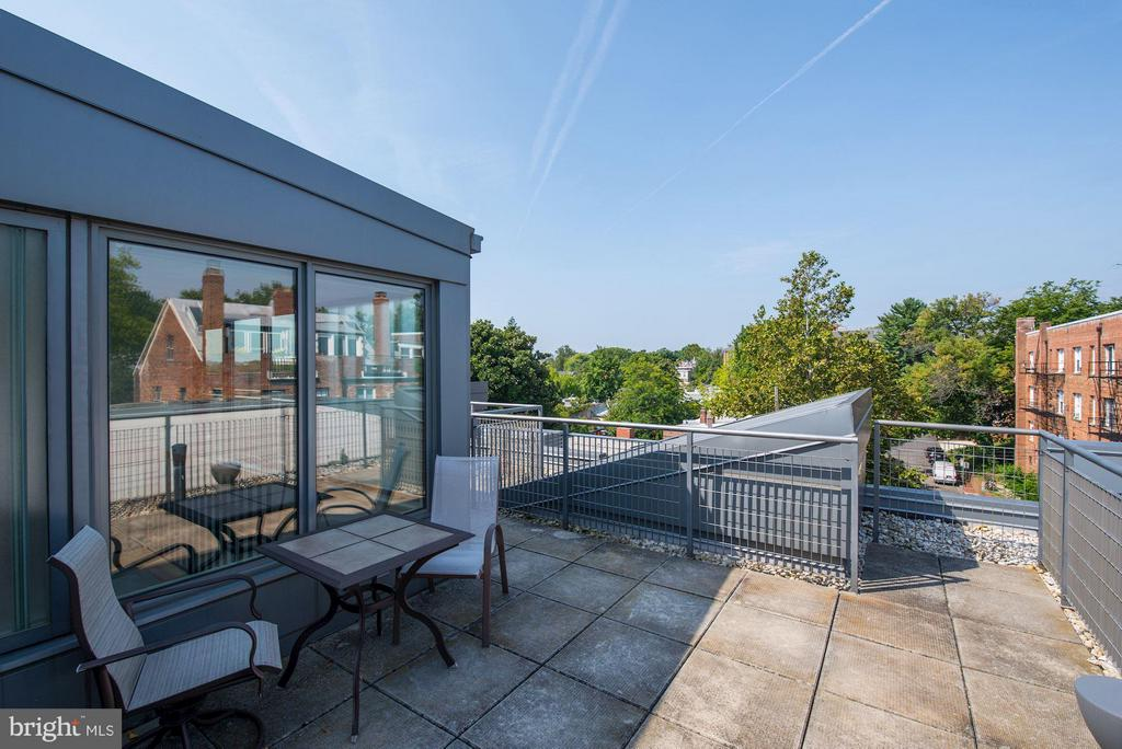 Private Roof Deck (1 of 2) - 2516 Q ST NW #Q301, WASHINGTON
