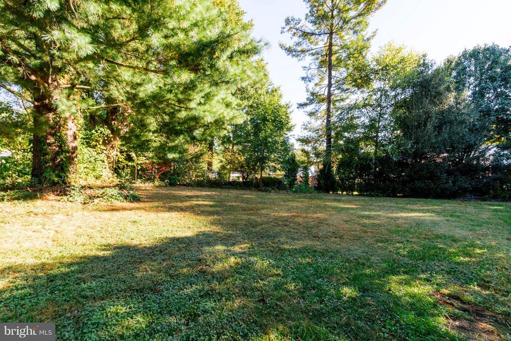 Large fenced in back yard - 5216 PORTSMOUTH RD, FAIRFAX