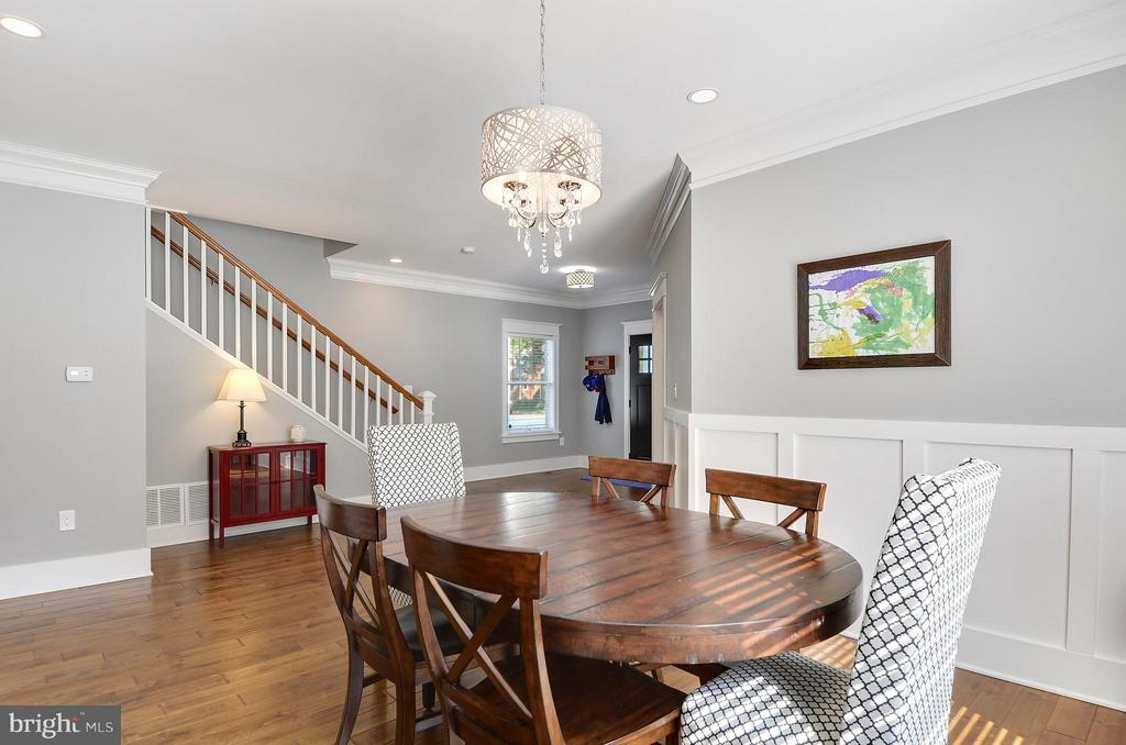 Formal dining room, open yet structured - 5656 5TH ST N, ARLINGTON