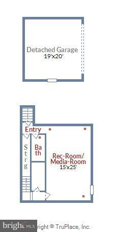Lower level floorplan - 5656 5TH ST N, ARLINGTON