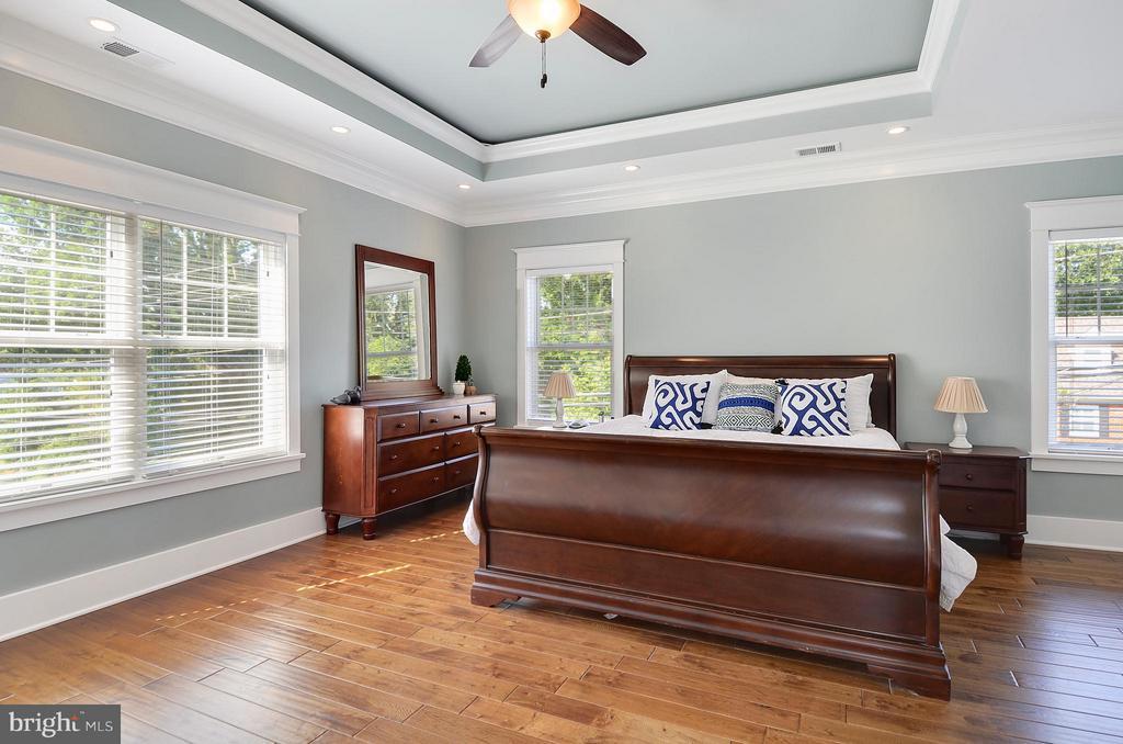 Gorgeous tray ceiling, hardwoods, stylish decor - 5656 5TH ST N, ARLINGTON