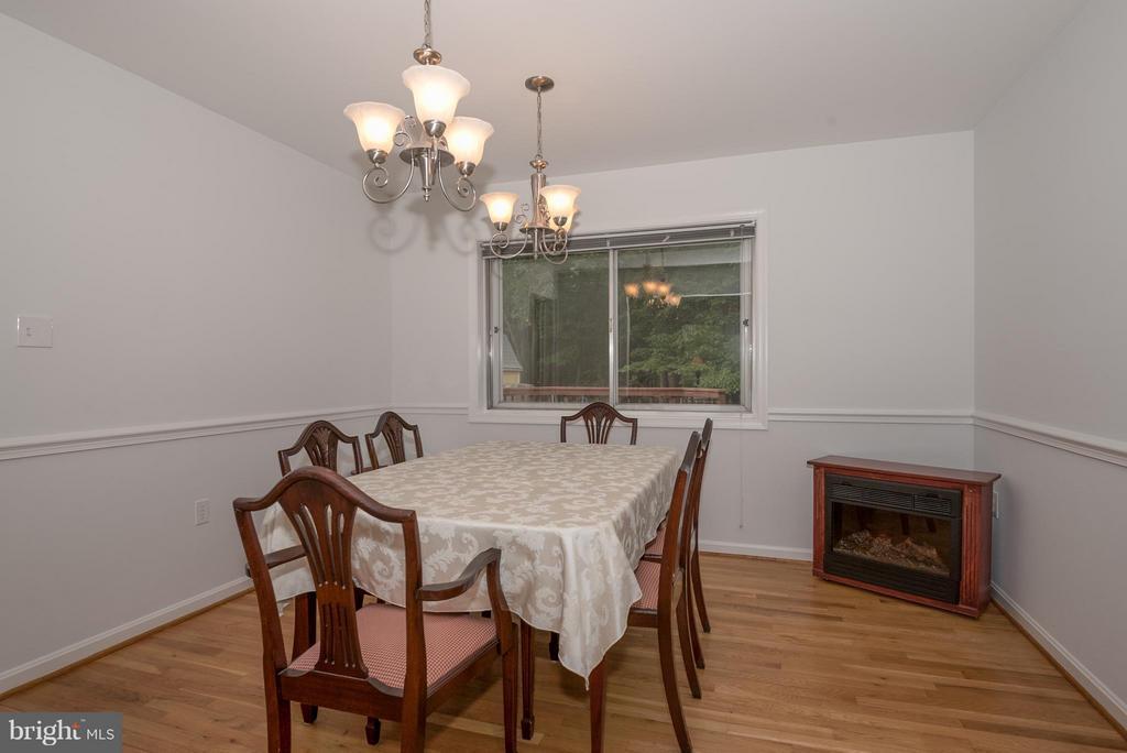 Dining Room - 9606 JOMAR DR, FAIRFAX