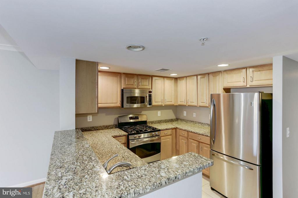 KITCHEN - GRANITE COUNTER TOPS, RECESS LIGHTING! - 2220 FAIRFAX DR #705, ARLINGTON