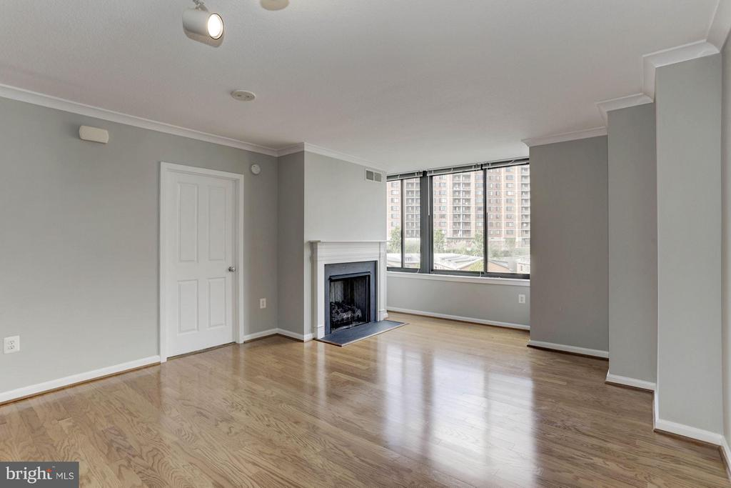 LIVING ROOM - SPACIOUS, LIGHT, & BRIGHT! - 2220 FAIRFAX DR #705, ARLINGTON