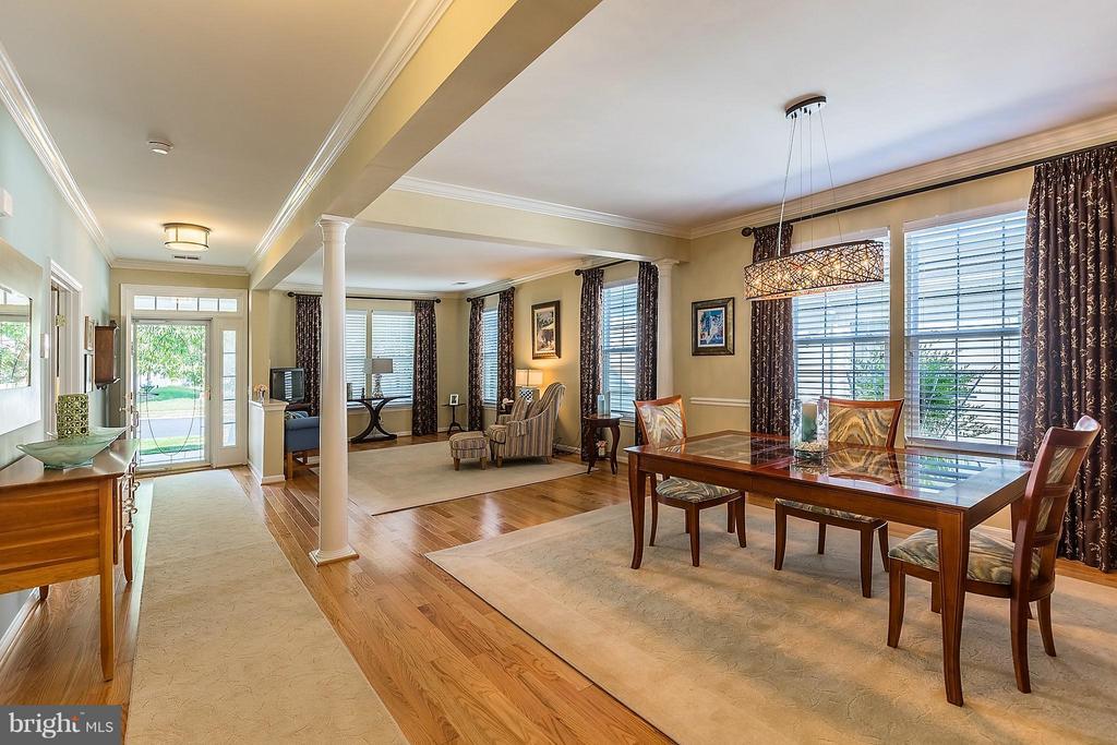 Dining Room Towards Living Room - 3714 EQUINOX WAY, DUMFRIES