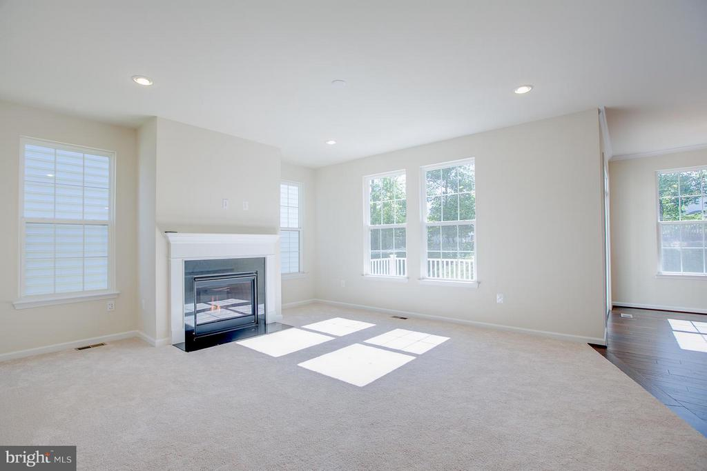9ft. Ceilings, Gas Fireplace, Hardwood throughout. - 170 VERBENA DR, STAFFORD