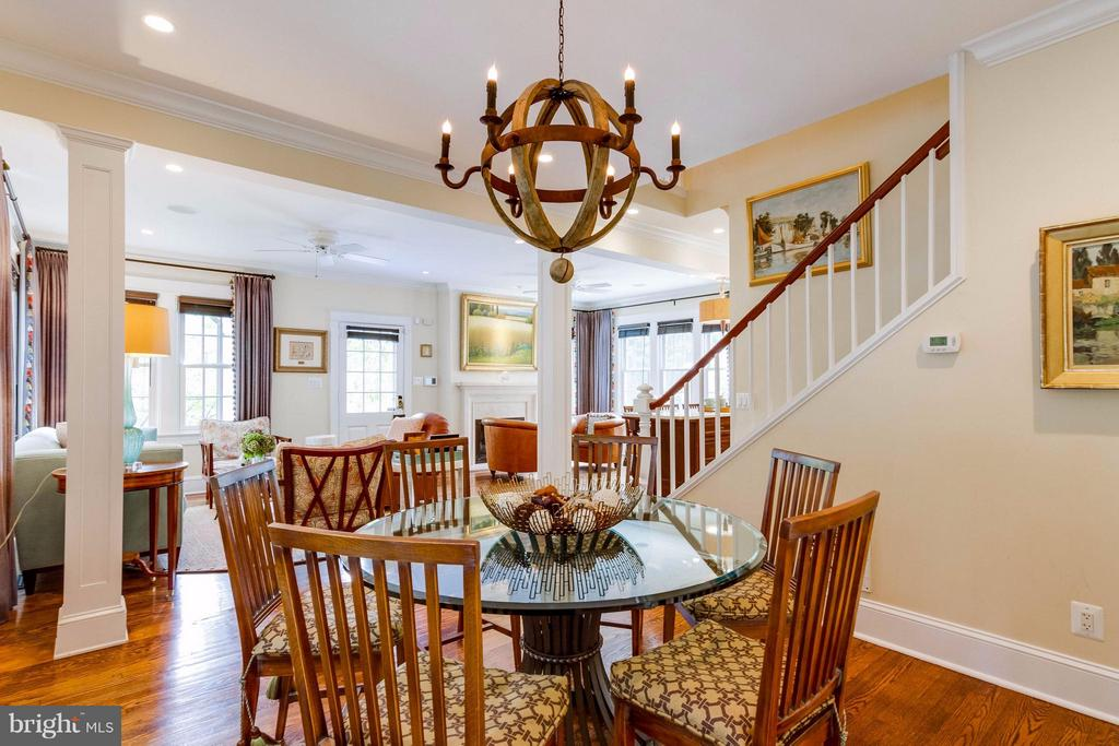 Large Dining Area - 411 FONTAINE ST, ALEXANDRIA