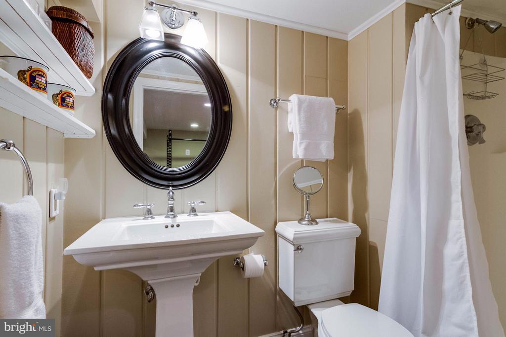 Lower Level Full Bath - 411 FONTAINE ST, ALEXANDRIA