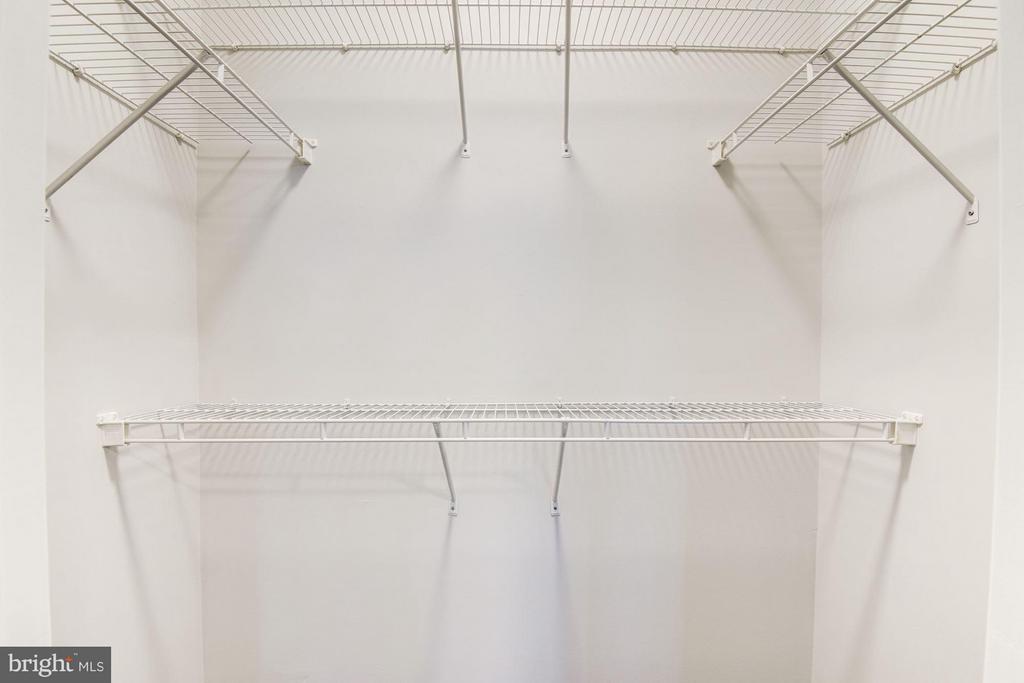 Second bedroom closet space - 9486 VIRGINIA CENTER BLVD #107, VIENNA