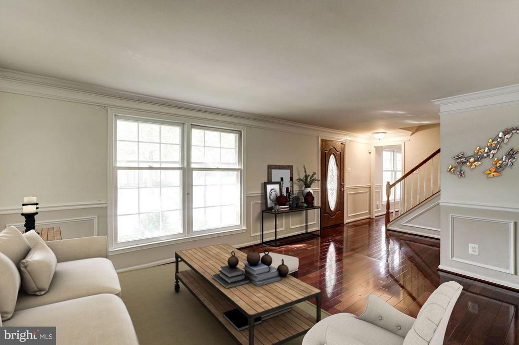 Living Room (3 of 3) - 602 MERLINS LN, HERNDON
