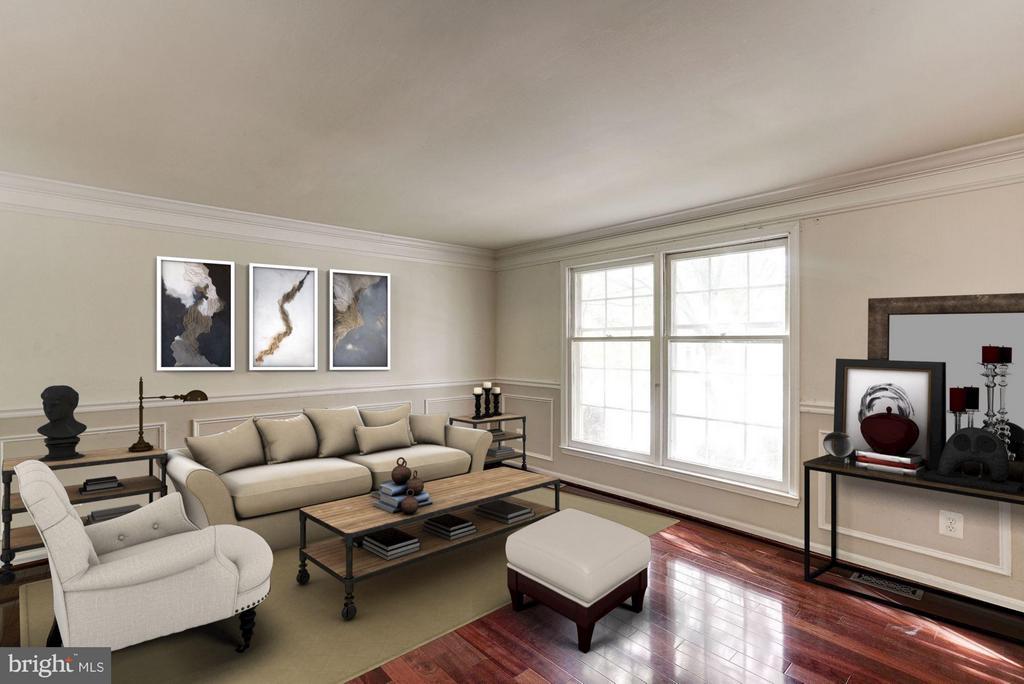 Living Room (1 of 3) - 602 MERLINS LN, HERNDON