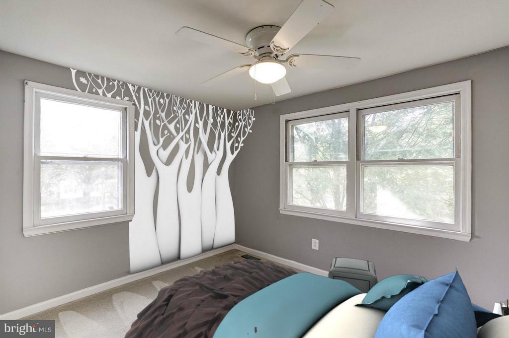 Bedroom #3 - 602 MERLINS LN, HERNDON